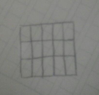 如何将正五边形平均分成十五等分
