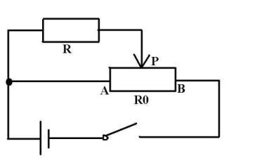 滑动变阻器采用分压式接法