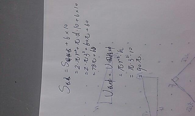 点评:本题重点考查了圆柱体的体积推导公式的过程中