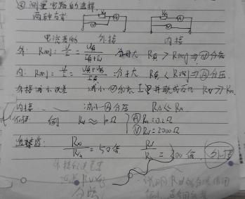限流式接法,分压式接法.电流表内接和外接.麻烦分别总结一下,要有图
