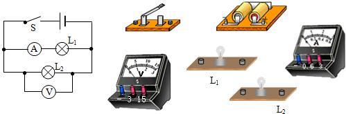 考点:实物的电路连接 专题:作图题 分析:根据实物电路的正确连接方法