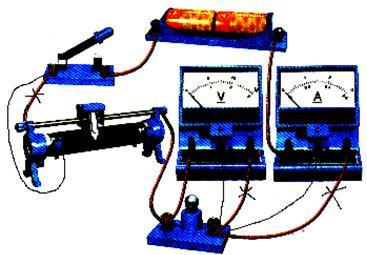 变阻器接入上面两个接线柱