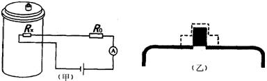 高压锅盖上有一限压阀,图为限压阀的原理图,限压阀由一直立圆柱形金属图片