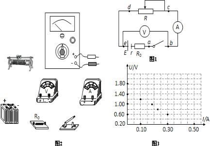 某同学在用电流表和电压表测电池的电动势和内阻的实验中,串联了一只