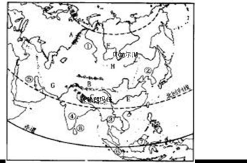 """""""世界屋脊""""青藏高原雄踞亚洲中部"""
