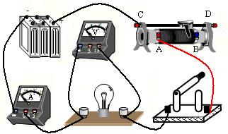 闭合开关,移动滑动变阻器的滑片到某一位置时,观察到电流表的示