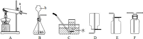 实验室用氯化钠_下图为实验室制取气体的装置图