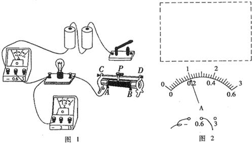 """在""""测量小灯泡电功率""""的实验中,已知电源电压是3v,小灯泡的额定电压是"""