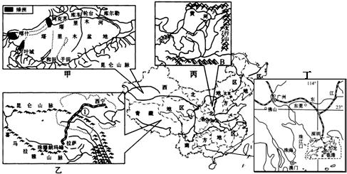 (5)印度半岛地形自北向南分为喜马拉雅山,恒河平原,德干高原