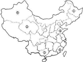 2012-2013学年内蒙古包头市达茂旗百灵庙二中七年级(下)期中地理试卷