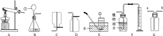 为实验室常用的制取气体的实验装置