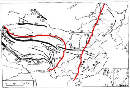 南北两侧分别是塔里木盆地