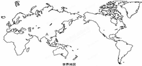 世界地图简笔画图片_七大洲轮廓图简笔画