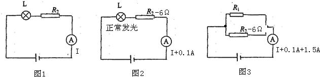 5a=2a, ∵并联电路中各支路两端的电压相等, ∴通过滑动变阻器的电流