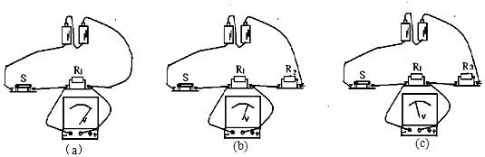 """为了""""探究串联电路中电阻的作用"""",某小组做了如下实验"""