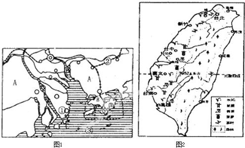 a.岛屿面积狭小   b.地形以山地为主    c.降水丰富     d.