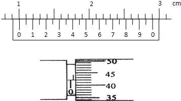讀圖中游標卡尺和螺旋測微器的讀數游標卡尺的讀數為圖片