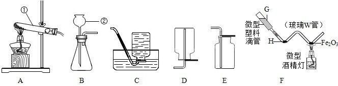 如图是实验室中用于制取和收集气体的装置图.