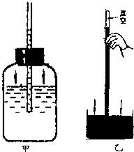 甲是自制的水气压计图片