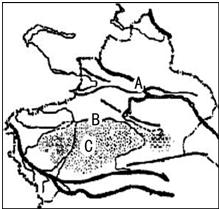 读省级某省级行政区图,显示:(1)该图回答的我国大专全日制初中图片