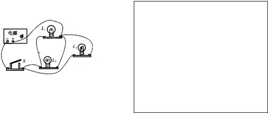 根据如图,在方框内画出相应的电路图.