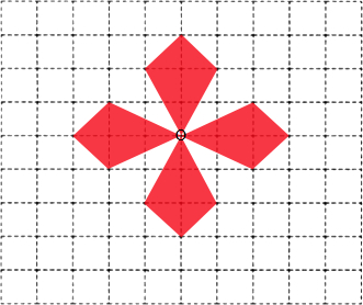 利用旋转平移设计图案_利用旋转平移设计图案画法图片