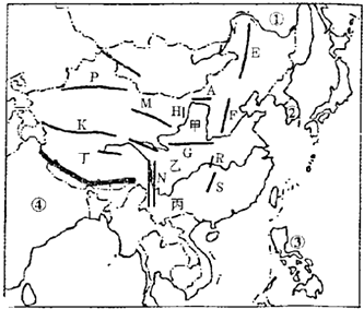 2012-2013学年内蒙古包头市达茂旗百灵庙二中八年级(下)期中地理试卷