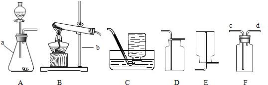 如图是实验室常用的实验装置