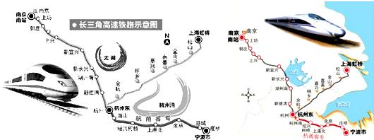 跨越宁波的第一条高铁--杭甬客运专线
