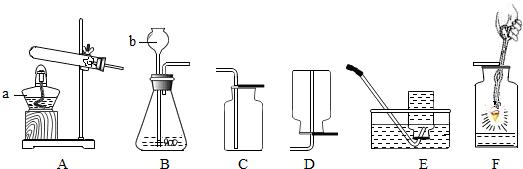 图b是氟原子的原子结构示意图