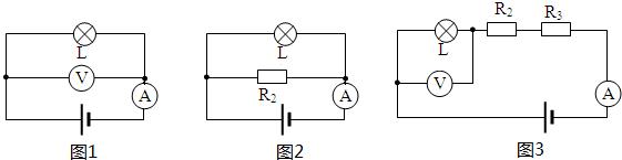 等效电路图如图1所示; 当闭合开关s 1,s 3,断开开关s 2时,等效电路图