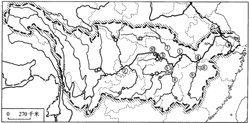 地图 简笔画 手绘 线稿 499_248