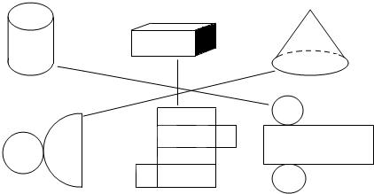 小学数学试题 > 试题解析   【考点】长方体的展开图;圆柱的展开图.