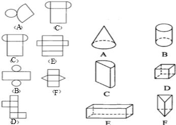 ⑦6个面相等能折成正方体;