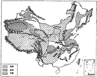 黄河地形图简笔画