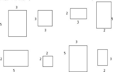 长方体平面图纸