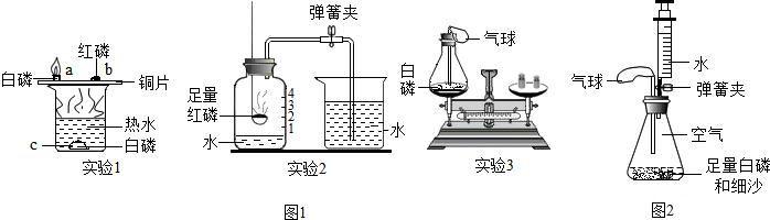 ;白磷燃烧的化学方程式