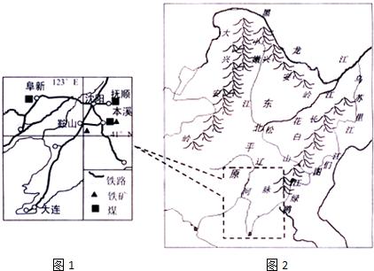 读某地等高线地形图(如图),图中小清河的流向是(  ) a,自南向北 b,自