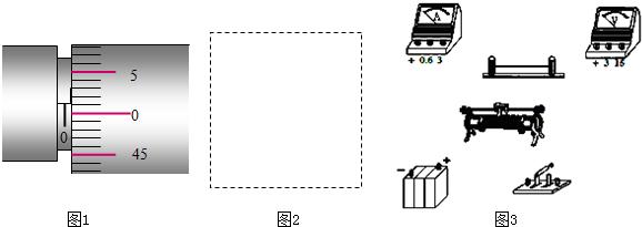 """在""""测定金属的电阻率""""的实验中,金属的电阻在5Ω左右."""