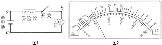 其电路如图1所示,该电路用标称值12v的蓄电池为电源,导线及其接触完好