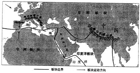 美国 c.印度洋 d.阿拉伯半岛