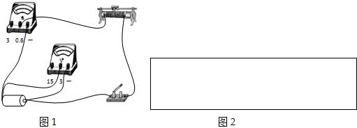 某学生用电流表和电压表测干电池的电动势