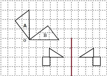 这只小鸟可是由几何图形组成的哦