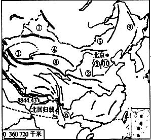 15.读中国地形图