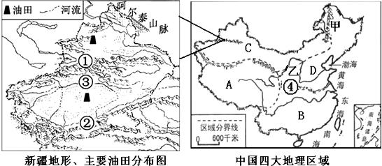 新疆塔河油田地图