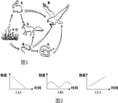 如图1为某生态系统的食物网简图,请据图完成下列各题