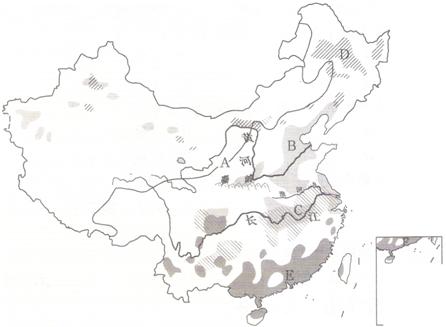 地图 简笔画 手绘 线稿 446_327
