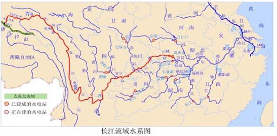 重庆电网地理接线图
