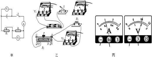 小林同学利用电压表和电流表测量电阻r
