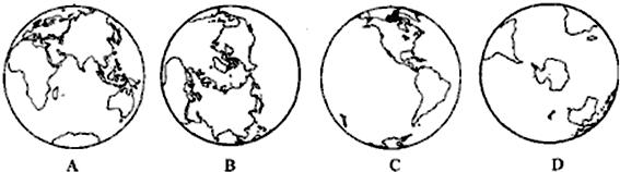 七大洲,四大洋是怎样分布的呢?